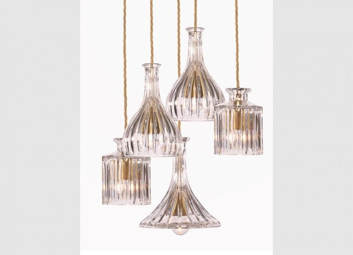 Decanterlight Chandelier Straight From Lee Broom   Gorgeous