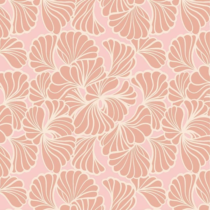 A pattern a day ... My entry for #printedvillage #blush - #textilepattern #pattern #textiledesign #design #textiles #illustration…