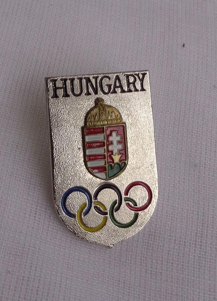 Hungary Olympic Pin Pinback