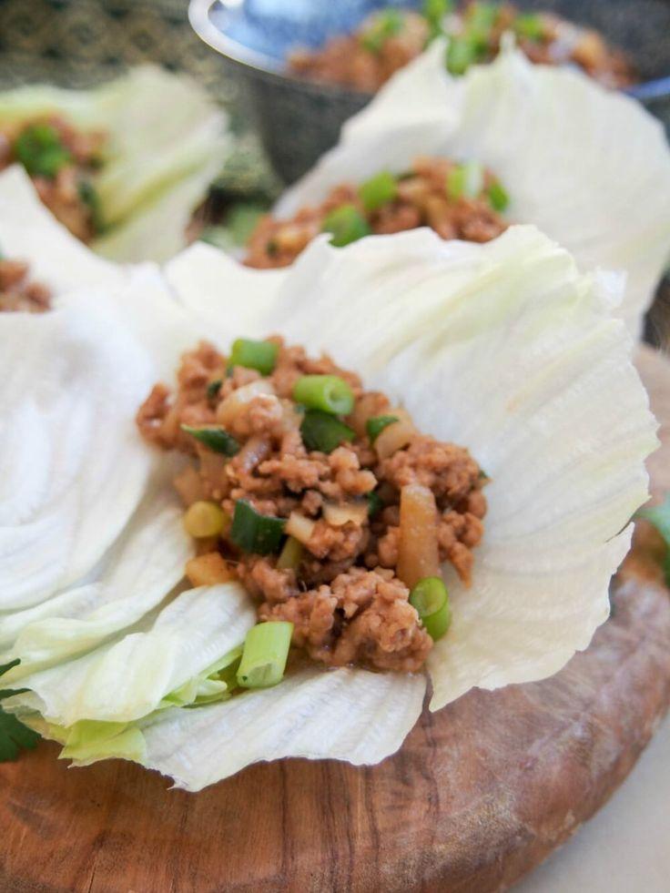 Chinese lettuce wraps