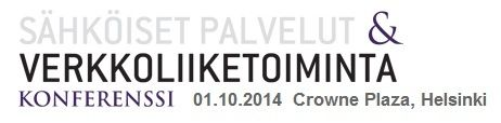 Sähköiset palvelut ja verkkoliiketoiminta 1.10.2014 - Descom