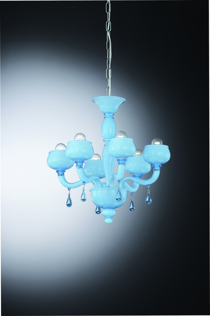 Mejores 8 imgenes de venetian glass chandeliers lampadari vetro giustinian venetian glass chandelier with 6 lights colour white aloadofball Choice Image
