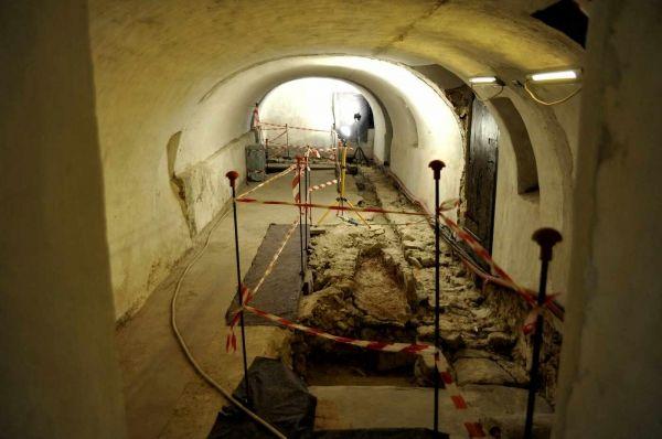 Resti del V secolo nella cripta del Sacro Monte