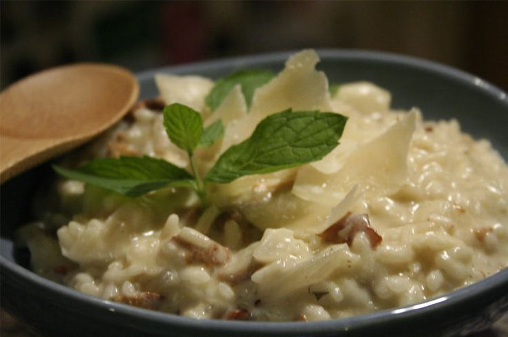 Risotto aux champignons : la recette facile