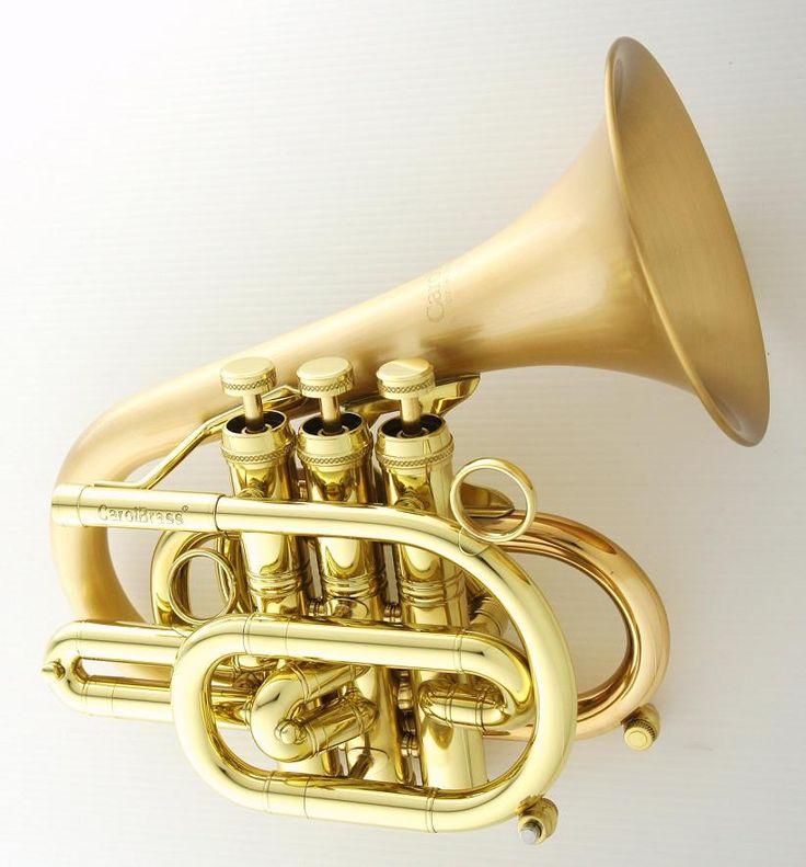 "CarolBrass ""Dizzy Pocket Trumpet"" --- https://www.pinterest.com/lardyfatboy/"