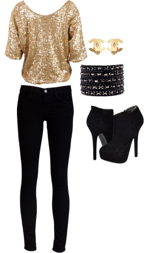 incredible holiday night out outfit 13