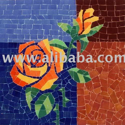Handmade ceramic mosaic painting - Still life 021, View Handmade ceramic mosaic painting for home decor, MOSA Product Details from Mosa Co.,...