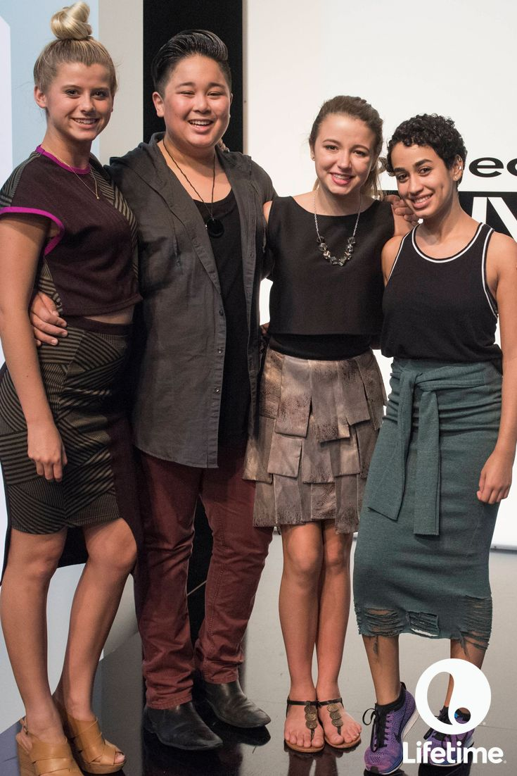 Our fashionable Project Runway Junior designers are down to the final four!