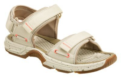 World Wide Sportsman Blue Water 3-Point Rafter Sandals for Ladies - Sand - 5M