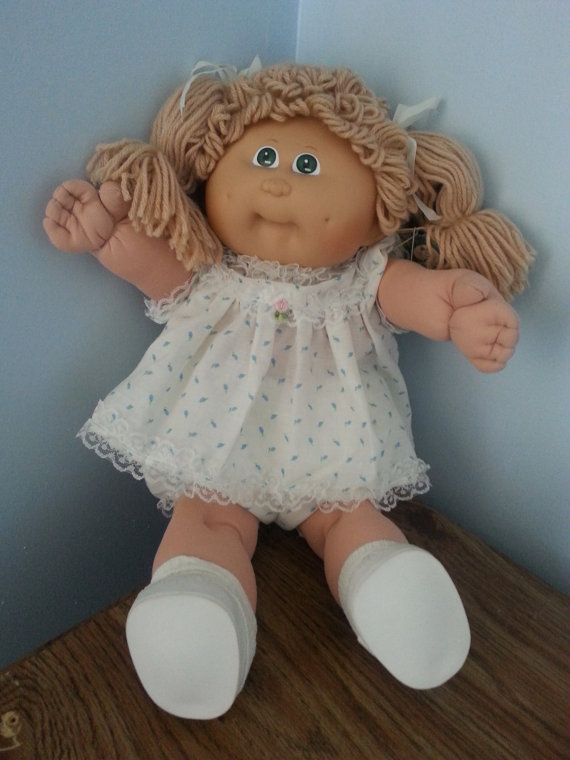 Vintage Cabbage Patch Doll 1983 by KeepsakeVintage on Etsy, $25.00