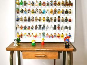 Ma vitrine de Lego Minifigures • Hellocoton.fr
