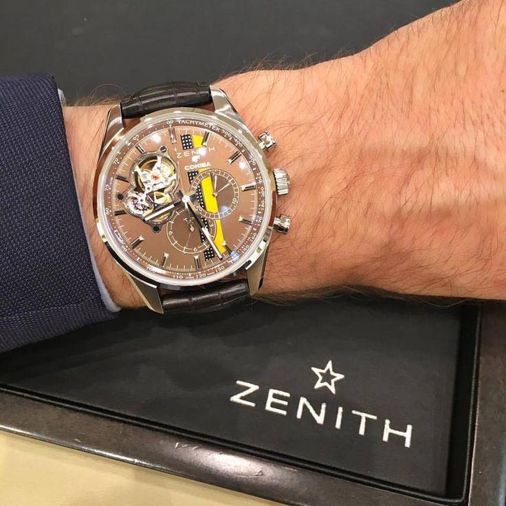 Un air cubain ... Montre #Zenith El Primero Chronomaster Cohiba édition limitée 500 pièces en 42 mm.