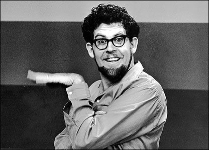 Rolf Harris - loved the paintings with big brushes and trying to guess what it was before he finshed.