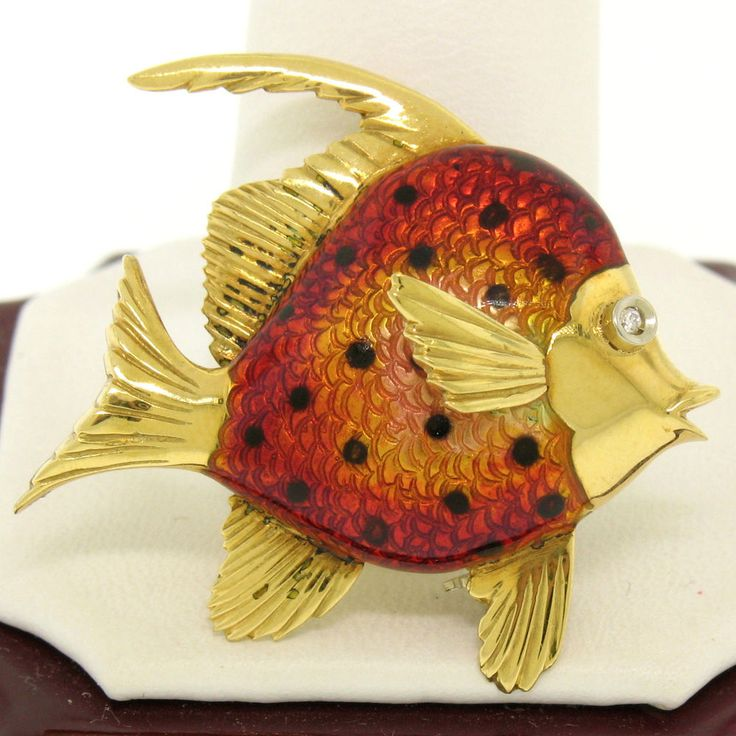 1000 images about birks canadian 1879 on pinterest for Solid gold fish