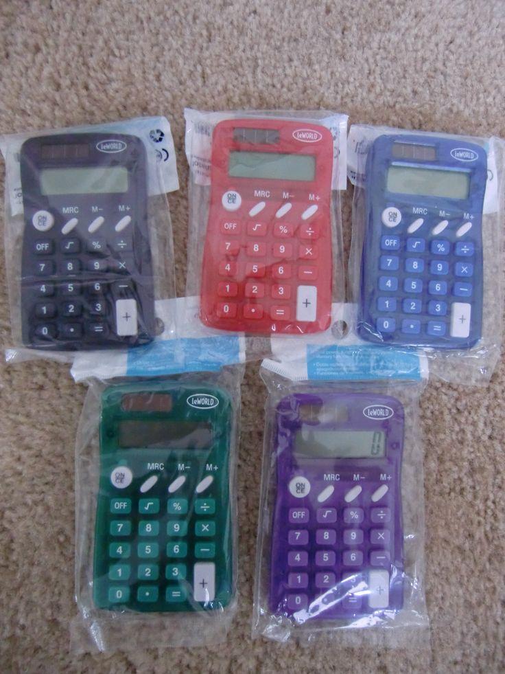 Solar Calculator - $.94 at Walmart (July Back-to-school sale)