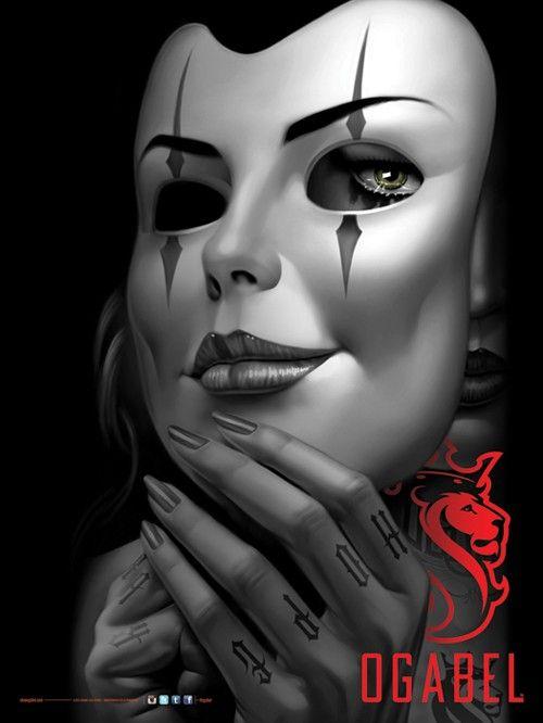 OGABEL.COM - MASKED Poster, $9.95 (http://www.shopogabel.com/masked-poster/)