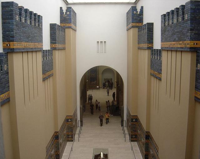 The Walls of Babylon, Pergamon Museum, Berlin, Germany