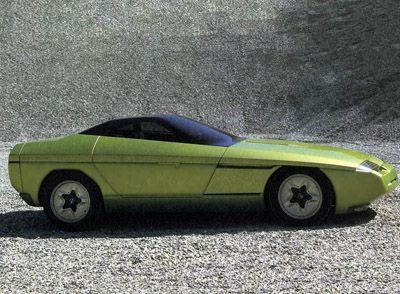 Chevrolet Corvette Ramarro by Bertone