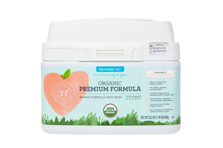 Breast milk is the best source of nutrition for babies. Our organic infant formula is carefully modeled after breast milk, and meticulously blended using non-GMO (genetically engineered), naturally-derived, organic and other high-quality ingredients, sourced from trusted organic farms to help ensure pure, safe, and quality goodness. | Honest Organic Premium Infant Formula