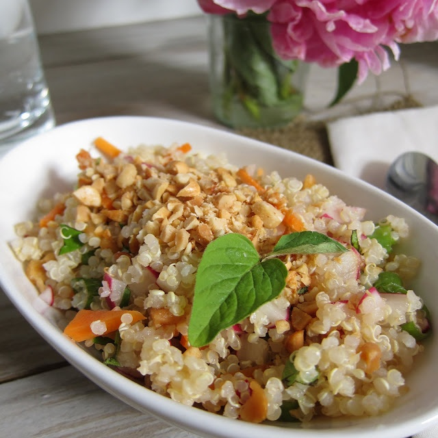 Vietnamese Quinoa Salad (Side Dish) | Side Dish/Snack/Misc | Pinterest