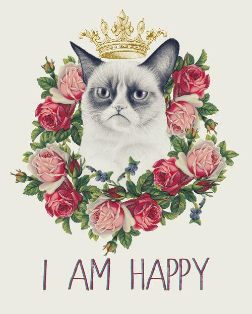 deadandlovelyy:  I am Happy | via Tumblr on We Heart It....