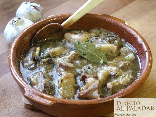 Caldereta de cordero. Receta tradicional - Lamb stew