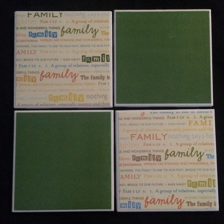 The Definition of Family Drink Coasters | Set of 4 by SKirbyCreations on Etsy https://www.etsy.com/listing/262495805/the-definition-of-family-drink-coasters