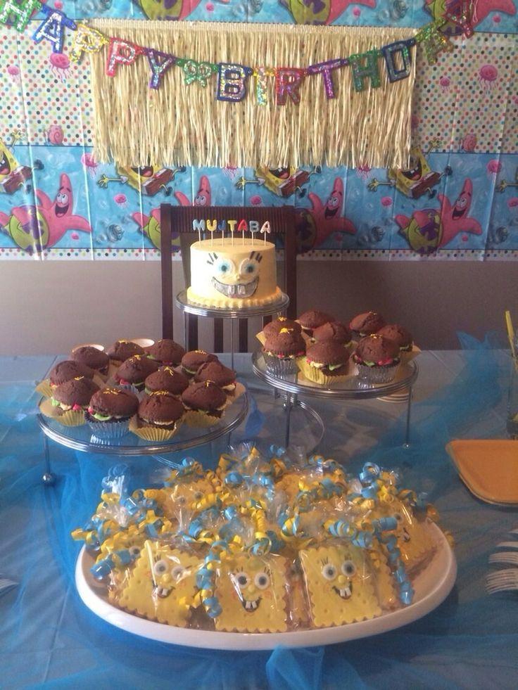 Spongebob  sweet table.