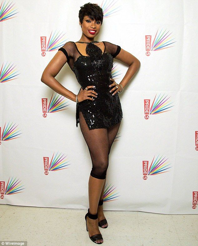 Love this outfit for tap dance - Work it: The Dreamgirls star (Jennifer Hudson) showed off her streamline figure at LA Pride in West Hollywood on June 7