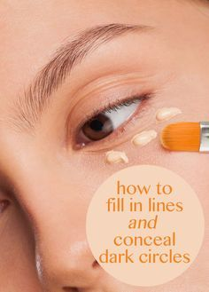 If you need your concealer to do more than cover circles, learn how to use a concealer to fill in fine lines, decrease puffiness and cover dark undereye circles all with one makeup concealer.