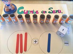 Ordenar y sumar los primeros números son actividades claves para las matemáticas en las edades de entre 5 y 7 años y siempre que los niños lo necesiten.