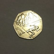 2014 Fifty Pence 50p Coin Glasgow Commonwealth Games. Rare / collectable