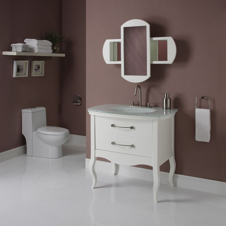 art decolav gabrielle modern white bathroom vanity suite is available in two finishes one is a clean smooth white while the second finish is an open grain