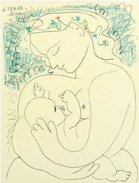 Pablo Picasso「1963」