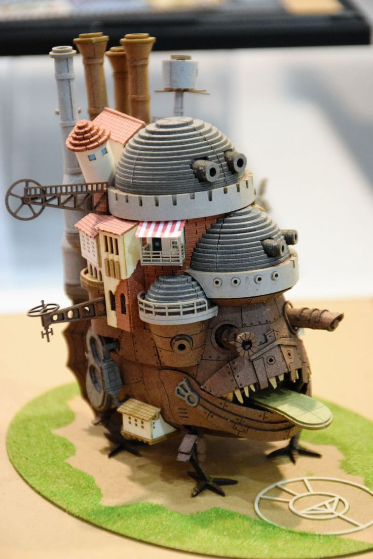 Howl no Ugoku Shiro / Howl's Moving Castle MINIATURE PUZZLE