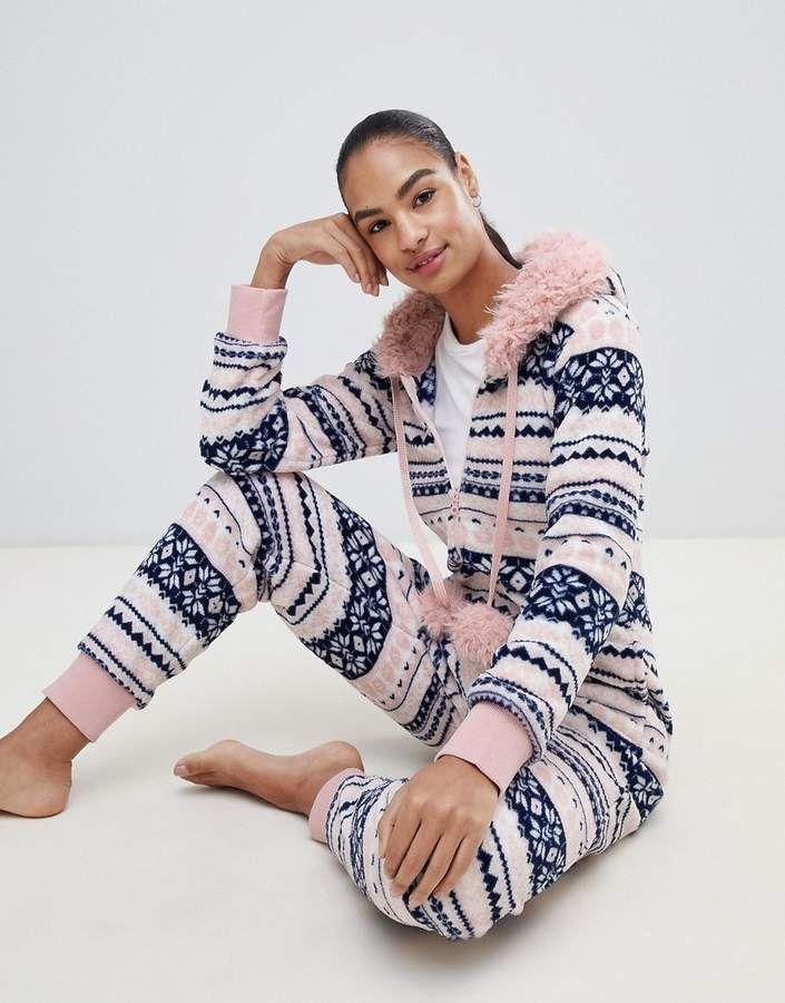 HUNKEM/ÖLLER Damen Pyjamahose Loose fit