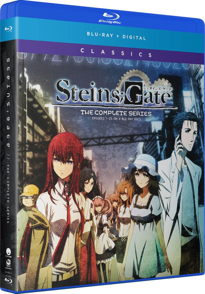 Steins Gate Classics Blu Ray Anime Episodes Cool Things To Buy