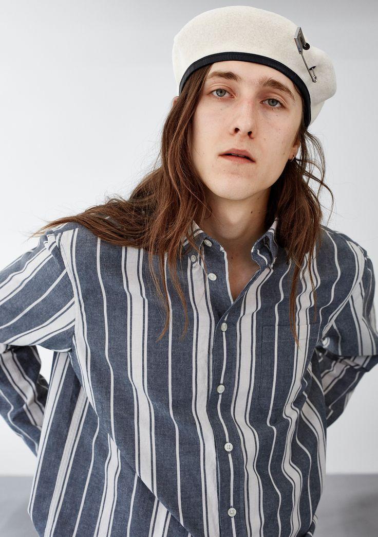 Air Pocket BD Shirt - Blue Stripe  #HopeStockholm