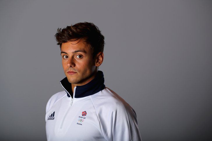Pin for Later: And Now, a Hefty Dose of Hot Olympic Athletes Tom Daley  Country: Great Britain Sport: Diving Age: 22