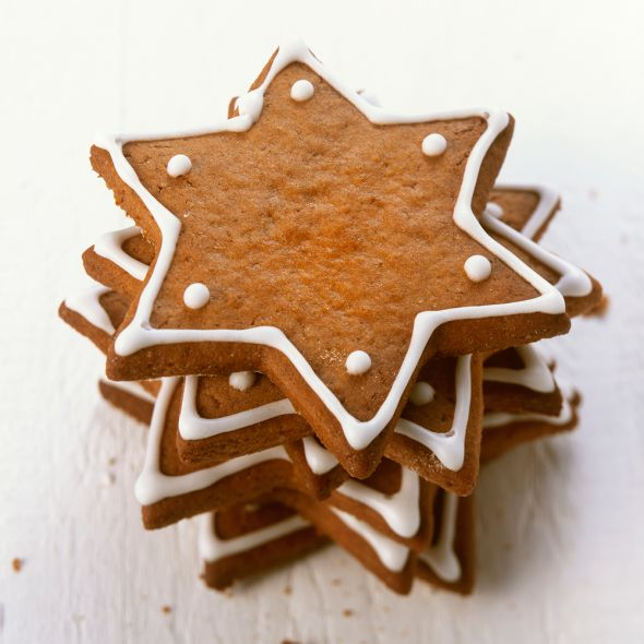 There's nothing quite as lovely as the smell of gingerbread filling your kitchen. These simple biscuits don't only taste amazing, but are also really easy to make, making them a great recipe for the little ones in the family too.