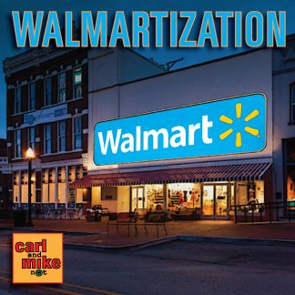 Carl and Mike talk about the Walmartization of America and the homogenizing effects of Capitalism in general. They also get into a conversation about religion and the seeming need for people to reduce God into a definable box. #walmart #capitalism
