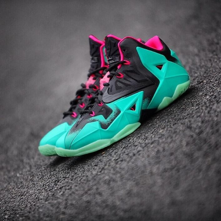 "Nike LeBron 11 ""South Beach"" ( More Images ) 