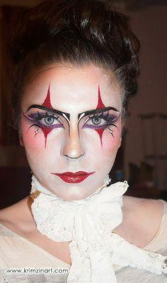 Neon harlequin makeup tutorial makeup image is loading las harlequin honey clown…