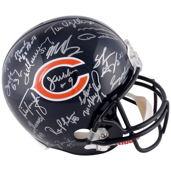 1985 Chicago Bears Fanatics Authentic Autographed Team Signed Riddell Replica Helmet with 30 Signatures - $999.99