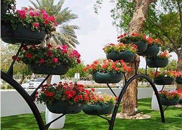ideas de reciclaje para jardines Decorar Jardines Con Materiales Reciclados With Decorar
