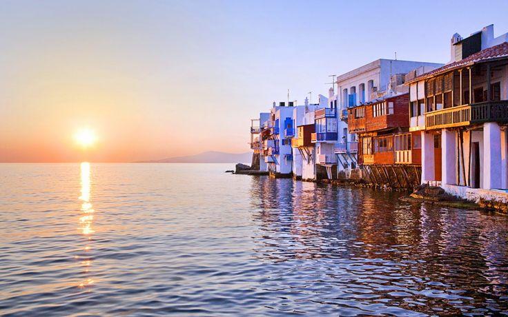 #ILoveGreece #JOHNNY #Greece #islands #mikonos #aegeansea #sunset