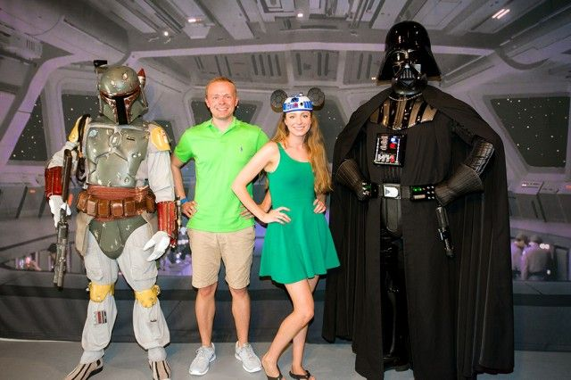 Star Wars breakfast runs daily (not just the weekends) during Star Wars weekends