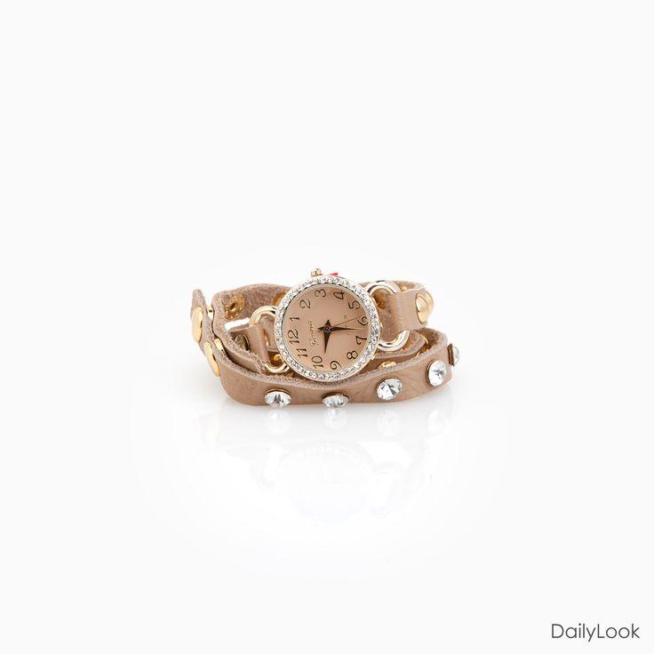 love: Crystals Studs, Watch Bracelets, Leather Wraps, Watches Bracelets W, Studs Leather, Accessories, Watches Bracelets Hav, Wraps Watches, Wrap Watches