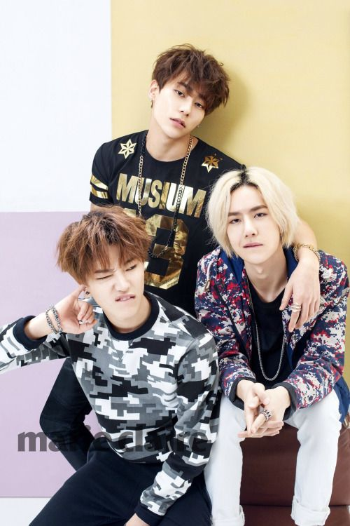UNIQ Sungjoo, Seungyoun, and Yibo