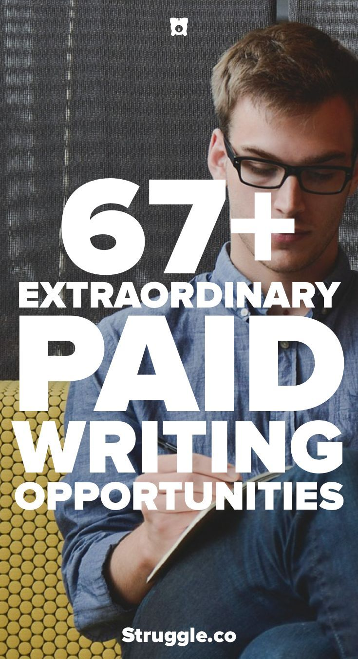 Becoming a freelance writer is a great way to make money from home. This post shows you over 67 writing opportunities to get paid working at home doing freelance writing.